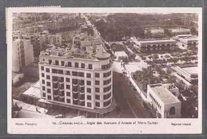 CARTES POSTALES ANCIENNES DE CASABLANCA collection Soly Anidjar Angle_11