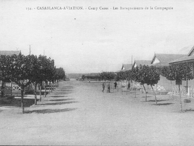 CARTES POSTALES ANCIENNES DE CASABLANCA collection Soly Anidjar Cazes110