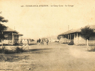 CARTES POSTALES ANCIENNES DE CASABLANCA collection Soly Anidjar Cazes210