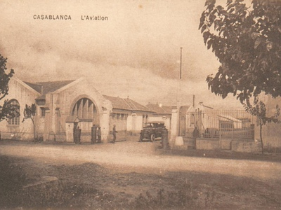 CARTES POSTALES ANCIENNES DE CASABLANCA collection Soly Anidjar Cazes310