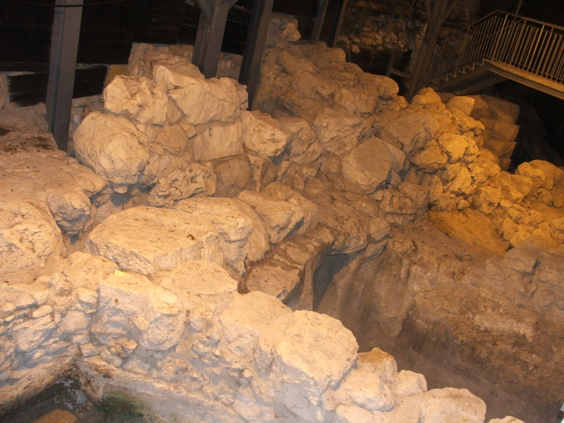 LE TEMPLE ET LA VILLE DU ROI DAVID A IR DAVID A JERUSALEM Dscf2223