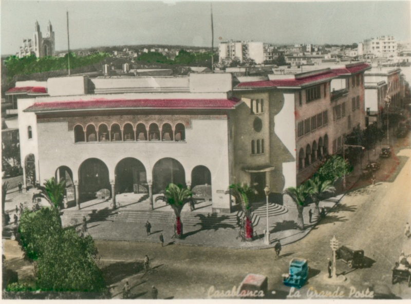 CARTES POSTALES ANCIENNES DE CASABLANCA collection Soly Anidjar Martin11