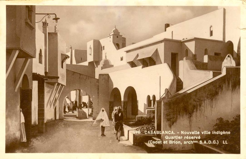 CARTES POSTALES ANCIENNES DE CASABLANCA collection Soly Anidjar Pierre11
