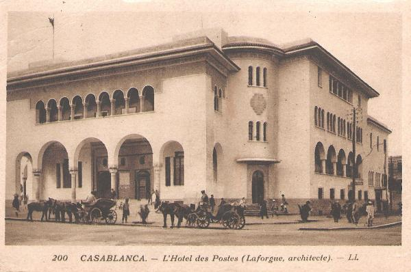 CARTES POSTALES ANCIENNES DE CASABLANCA collection Soly Anidjar T1172910