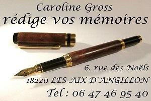 LES AIX D'ANGILLON (Cher) - Caroline Gross - Biographe familial, rédige vos mémoires Les_ai11