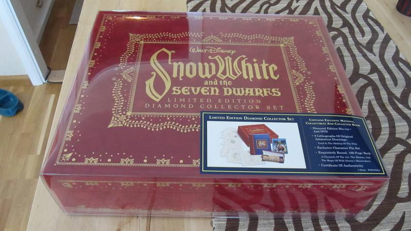 Snow White and the Seven Dwarfs (5 éditions ) 0116l10