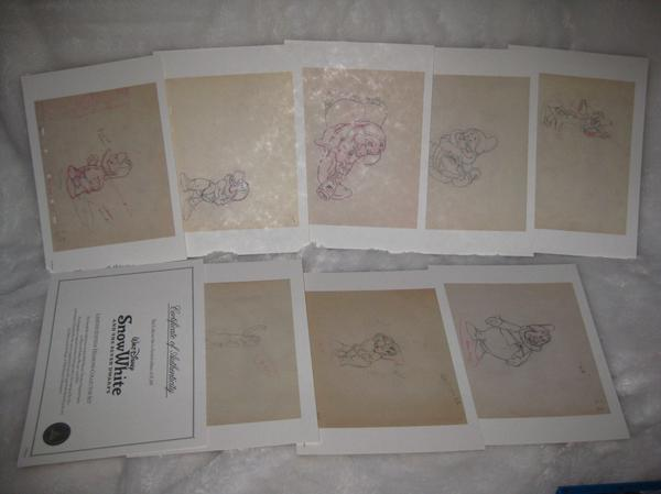 Snow White and the Seven Dwarfs (5 éditions ) L_eff810