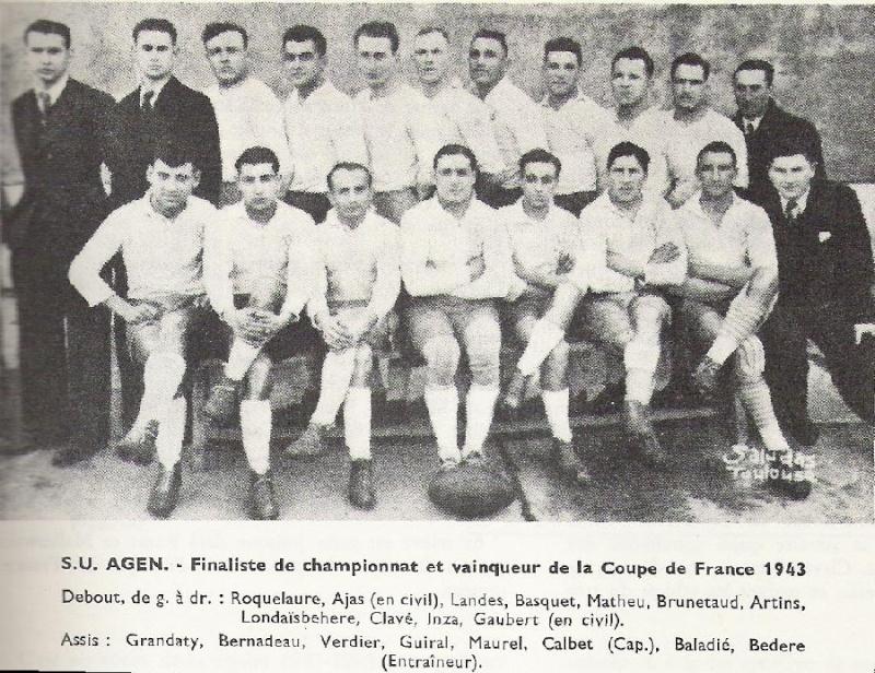 Palmarès du Sporting Union Agenais Agen2010
