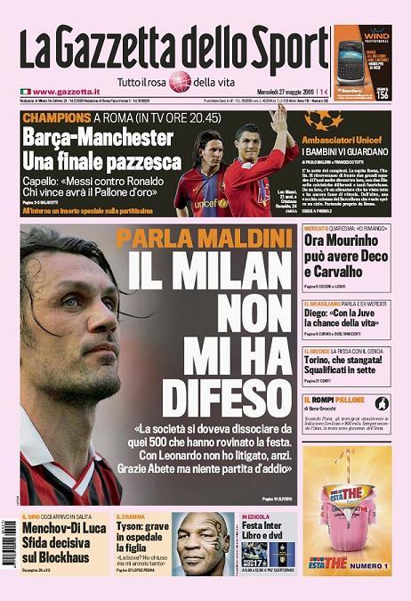 Finale 2009 :  FC Barcelone-Manchester Utd Primap10