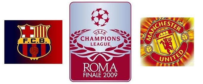 Finale 2009 :  FC Barcelone-Manchester Utd Uefa_l10