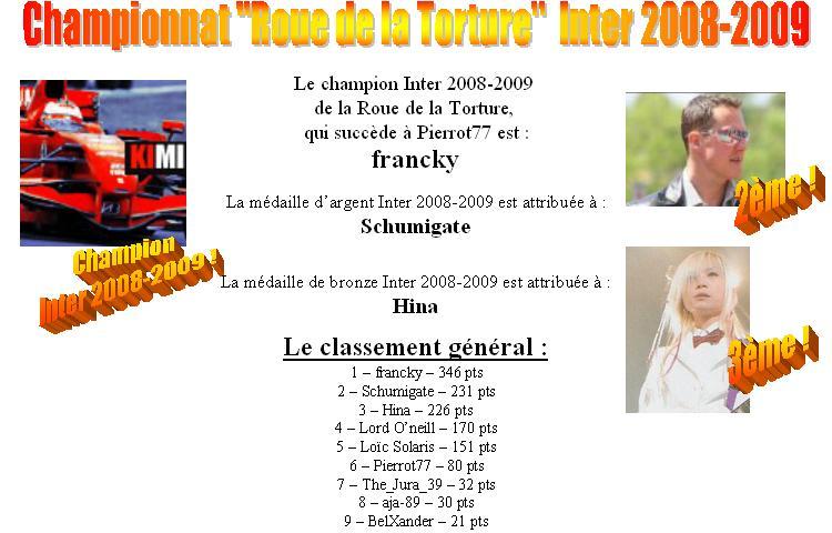 La Roue de la Torture - Intersaison 2008/2009 - Page 41 Roueto10