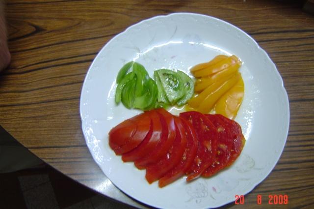 récolte au  jardin Tomate11