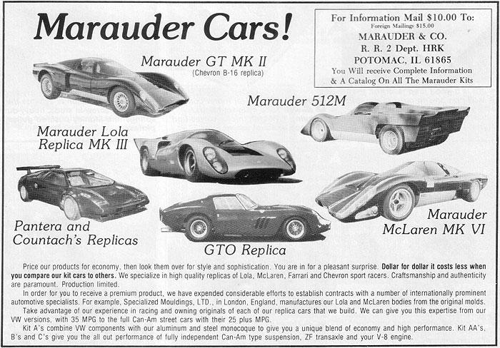 Les Québecois Grand Amateurs de Kit Car - Page 6 Maraud11