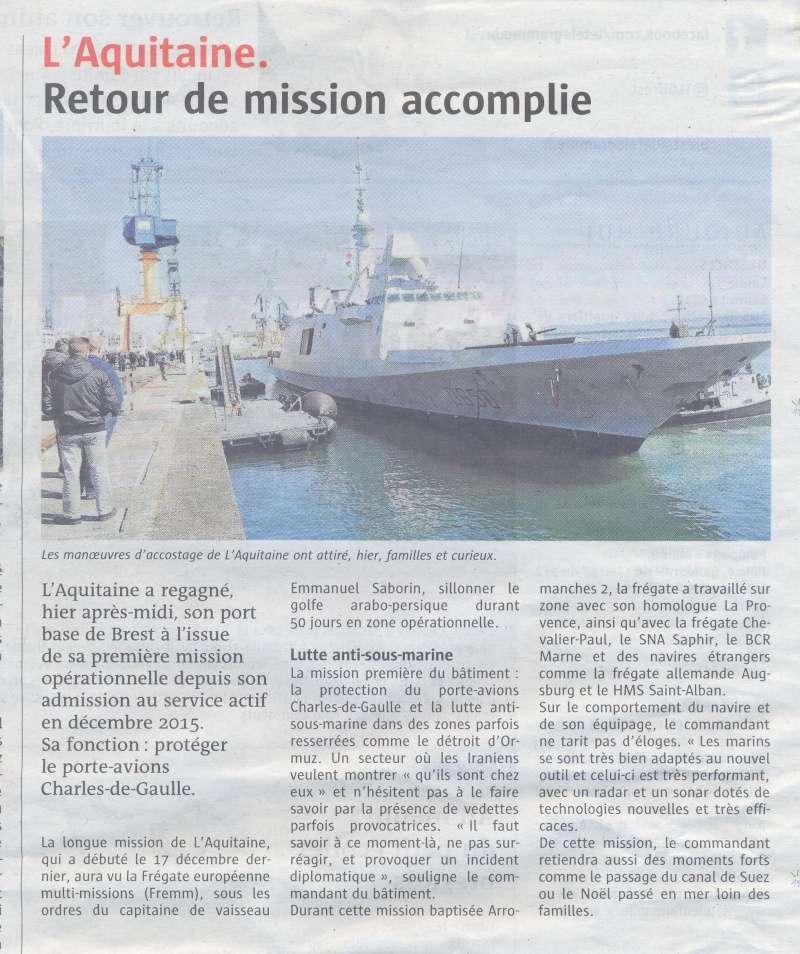FREMM Aquitaine (D650) - Page 3 Aquita10
