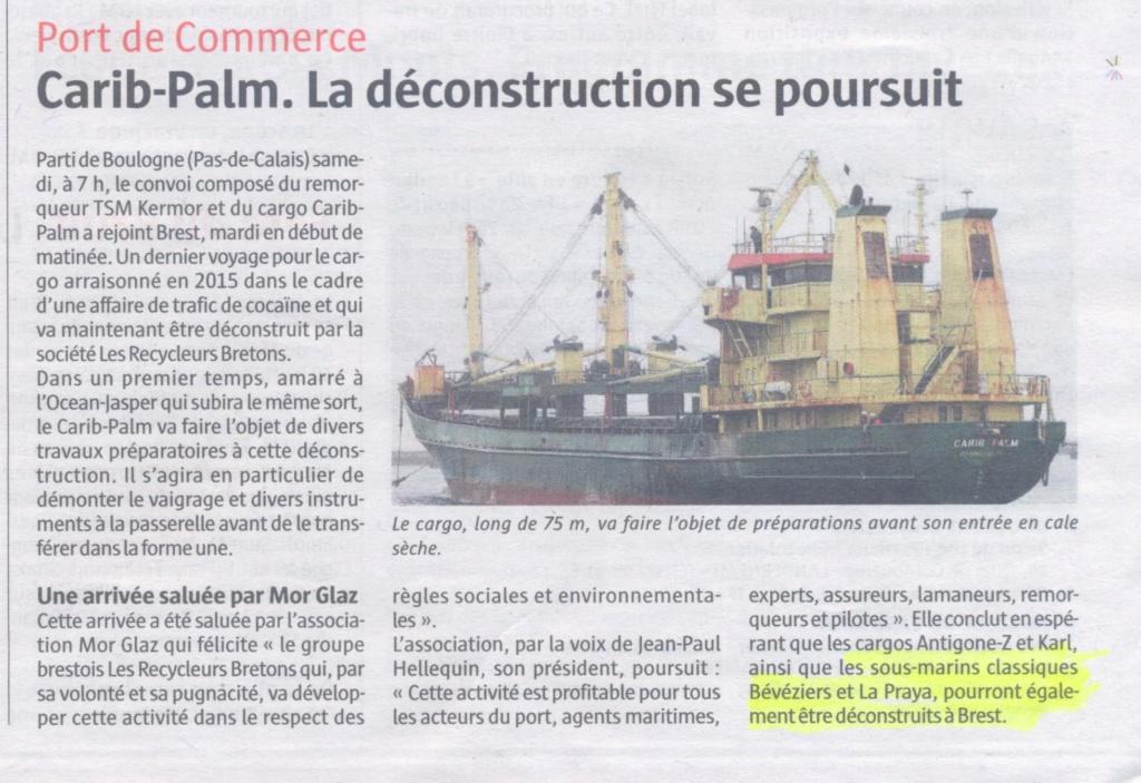 [Autre sujet Marine Nationale] Démantèlement, déconstruction des navires - TOME 2 - Page 37 Carib_10