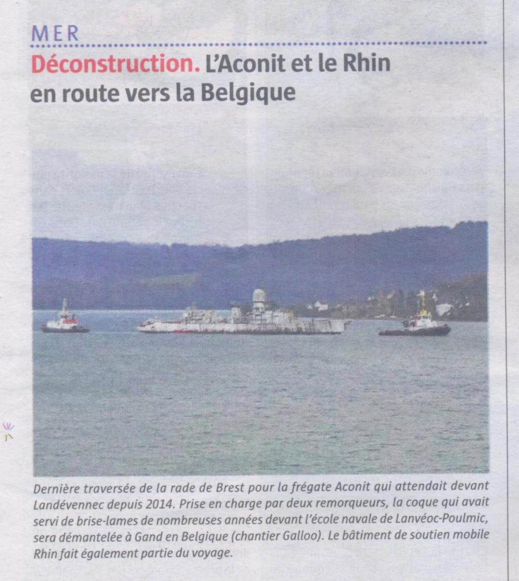 [Autre sujet Marine Nationale] Démantèlement, déconstruction des navires - TOME 2 Ex_aco10