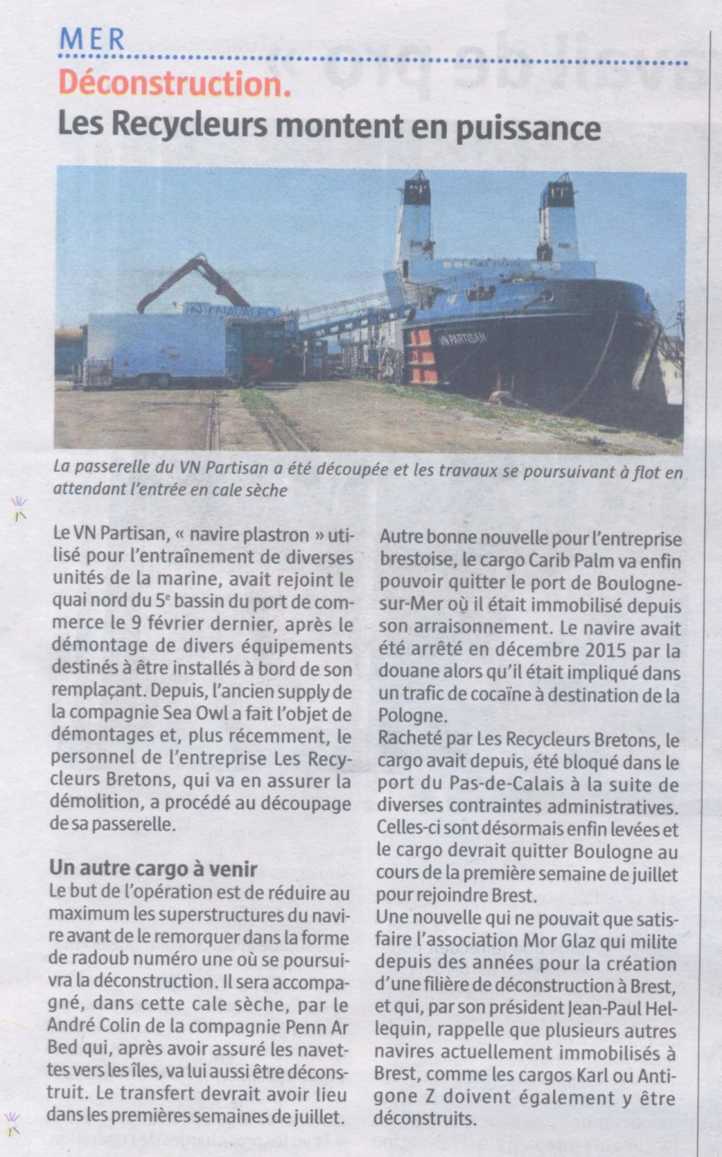 [Autre sujet Marine Nationale] Démantèlement, déconstruction des navires - TOME 2 - Page 36 Ex_vn_10