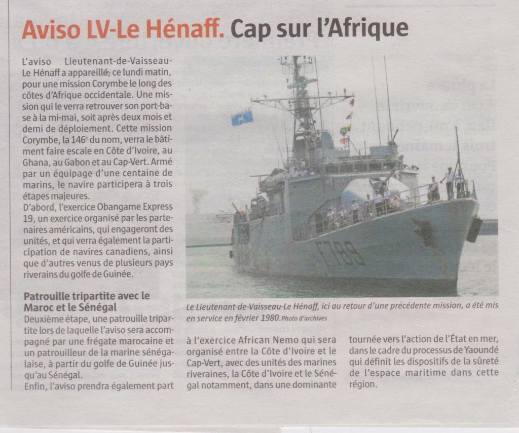 LIEUTENANT DE VAISSEAU LE HENAFF (AVISO) - Page 6 Henaff10