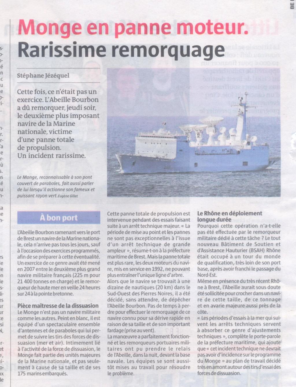 [Les ports militaires de métropole] Port de BREST - TOME 2 - Page 40 Monge_10
