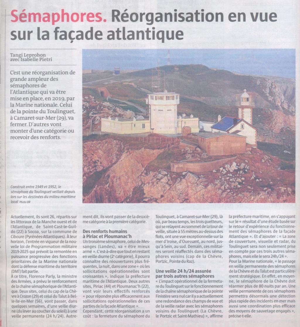 SÉMAPHORE - LE TOULINGUET  - PRESQU'ÎLE DE CROZON (FINISTÈRE) - Page 2 Sema_110