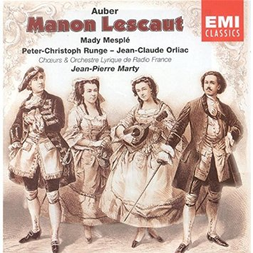 Manon Lescaut, Daniel-Fr-Esprit Auber 61mug110