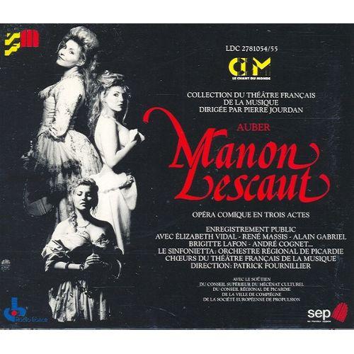 Manon Lescaut, Daniel-Fr-Esprit Auber Auber-10