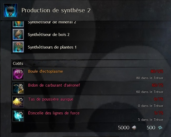 Production de synthèse 2 Gw06710