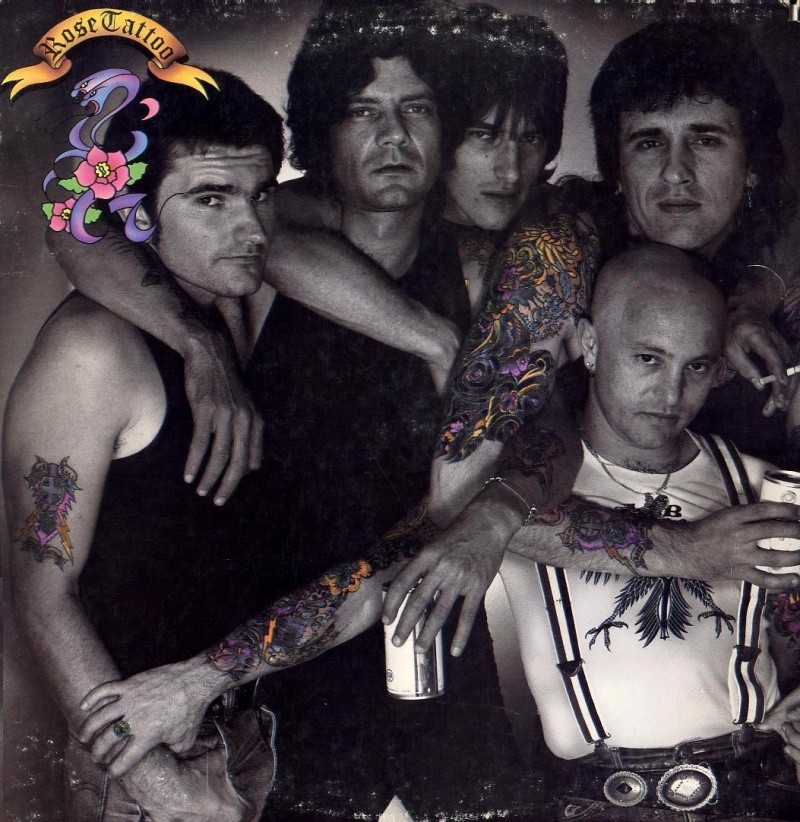 Rose Tattoo - Hard Rock Australien 1981_a10