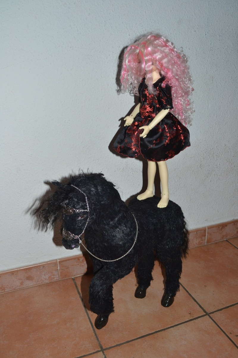 Cheval licorne MAJ 25/10 :cheval brun preview ldoll  00911