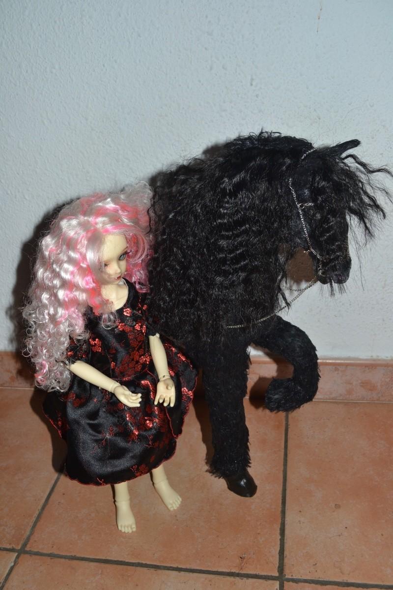 Cheval licorne MAJ 25/10 :cheval brun preview ldoll  01313