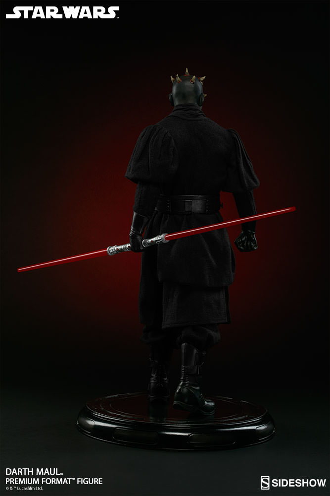 Sideshow Collectibles - Darth Maul Premium Format Figure Star-w12