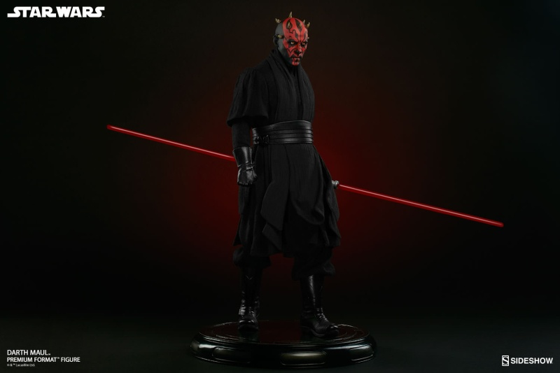 Sideshow Collectibles - Darth Maul Premium Format Figure Star-w13