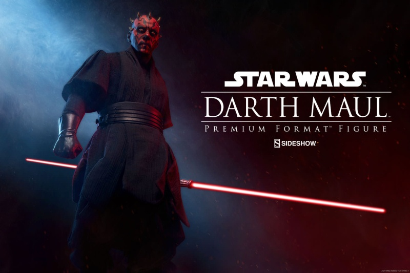 Sideshow Collectibles - Darth Maul Premium Format Figure Star-w15