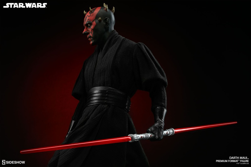 Sideshow Collectibles - Darth Maul Premium Format Figure Star-w24