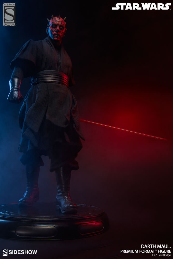 Sideshow Collectibles - Darth Maul Premium Format Figure Star-w26