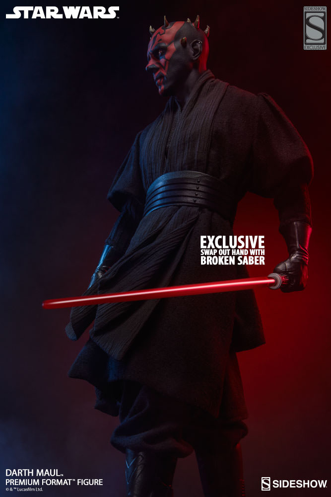 Sideshow Collectibles - Darth Maul Premium Format Figure Star-w28