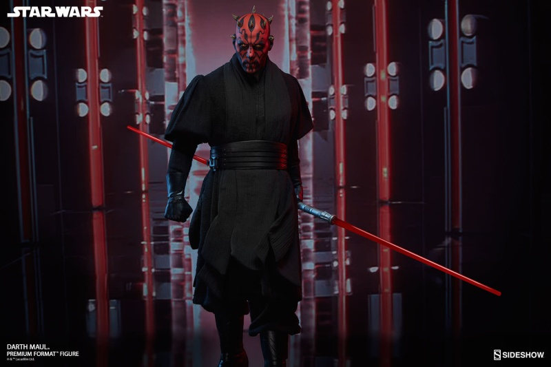 Sideshow Collectibles - Darth Maul Premium Format Figure Star-w29