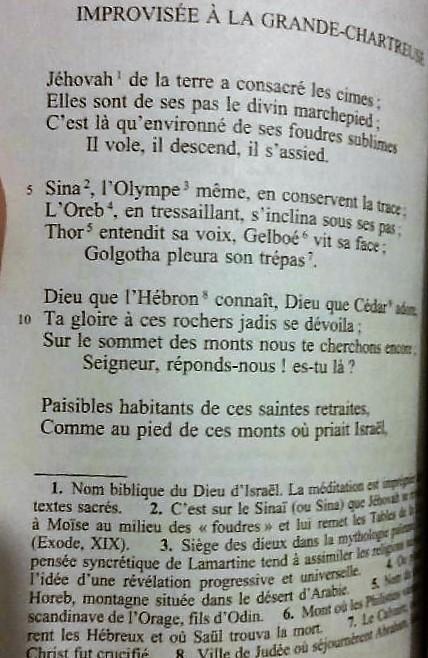 Le nom de Jehovah dans les romans ou livres! Lamart10