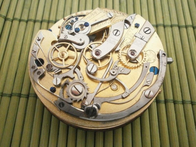 """Breitling - Chronographe gousset 19""""' Breitling ?? Lugrin10"""