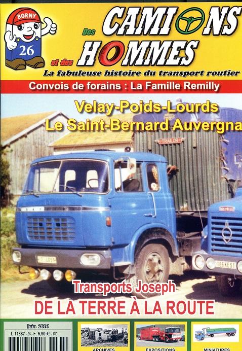 Des Camions et des Hommes n°26 est disponible ! Dch_2611