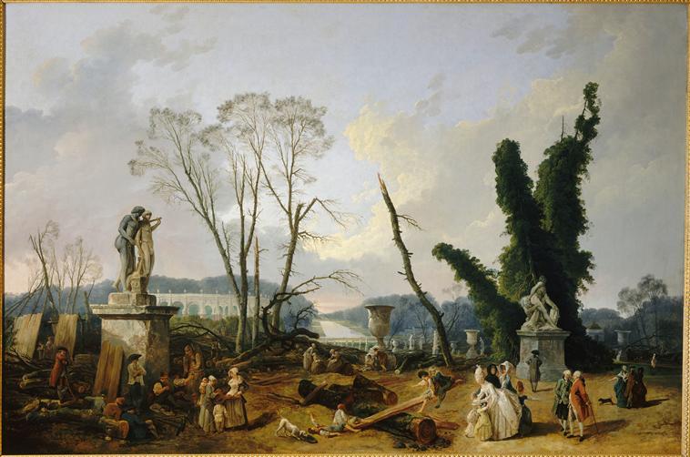 Exposition Hubert Robert au Musée du Louvre 16517510