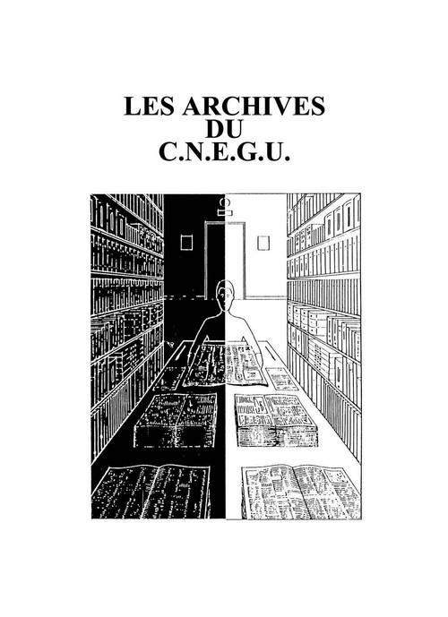 Le  CNEGU sauvegarde ses archives... Image-10