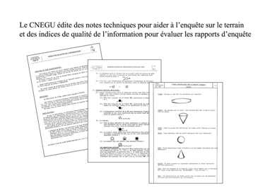 Liste des notes techniques éditées par le CNEGU.  Nt-pre10