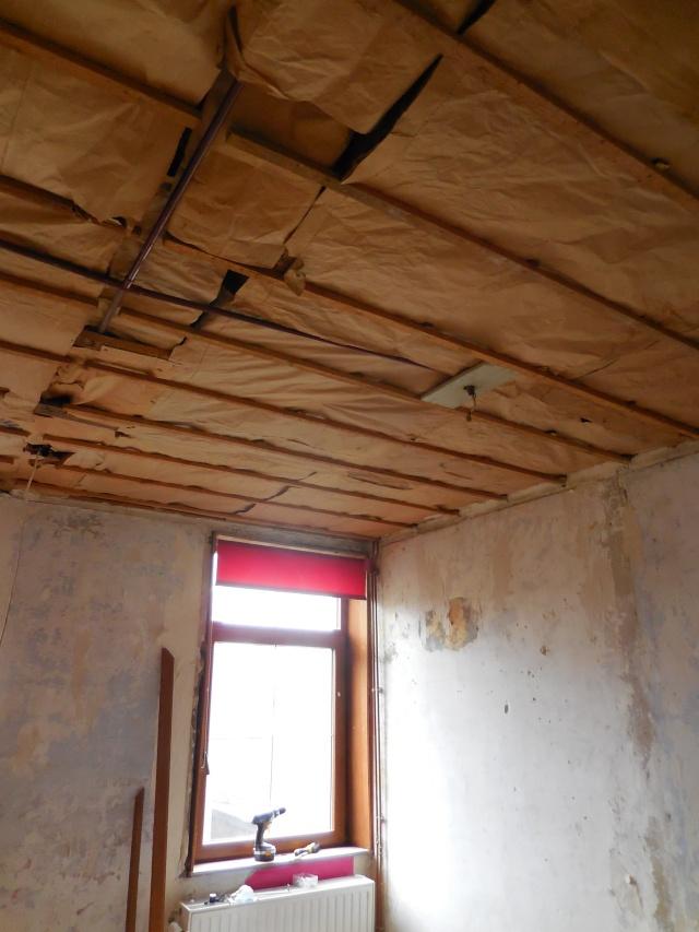 Isolation de la chambre par l'intérieur Chambr12