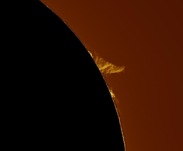 Suite activité solaire du 1 et 2 Avril 2016. 11_35_10