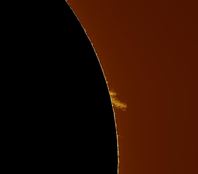 Suite activité solaire du 1 et 2 Avril 2016. 13_11_10