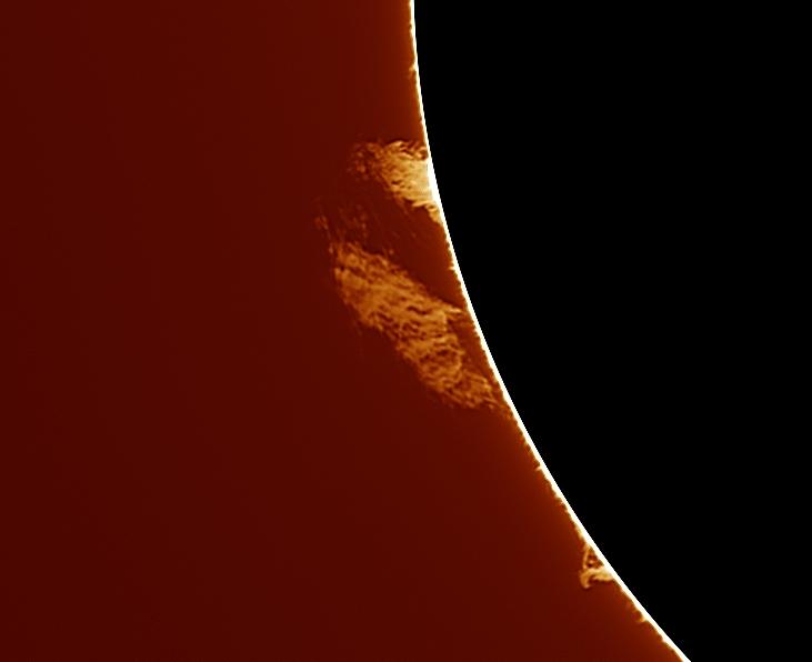 Suite activité solaire du 1 et 2 Avril 2016. 13_16_10