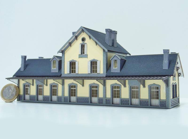 [Architecture & Passion] BV type PO de Murat au 1/160ème 16046610