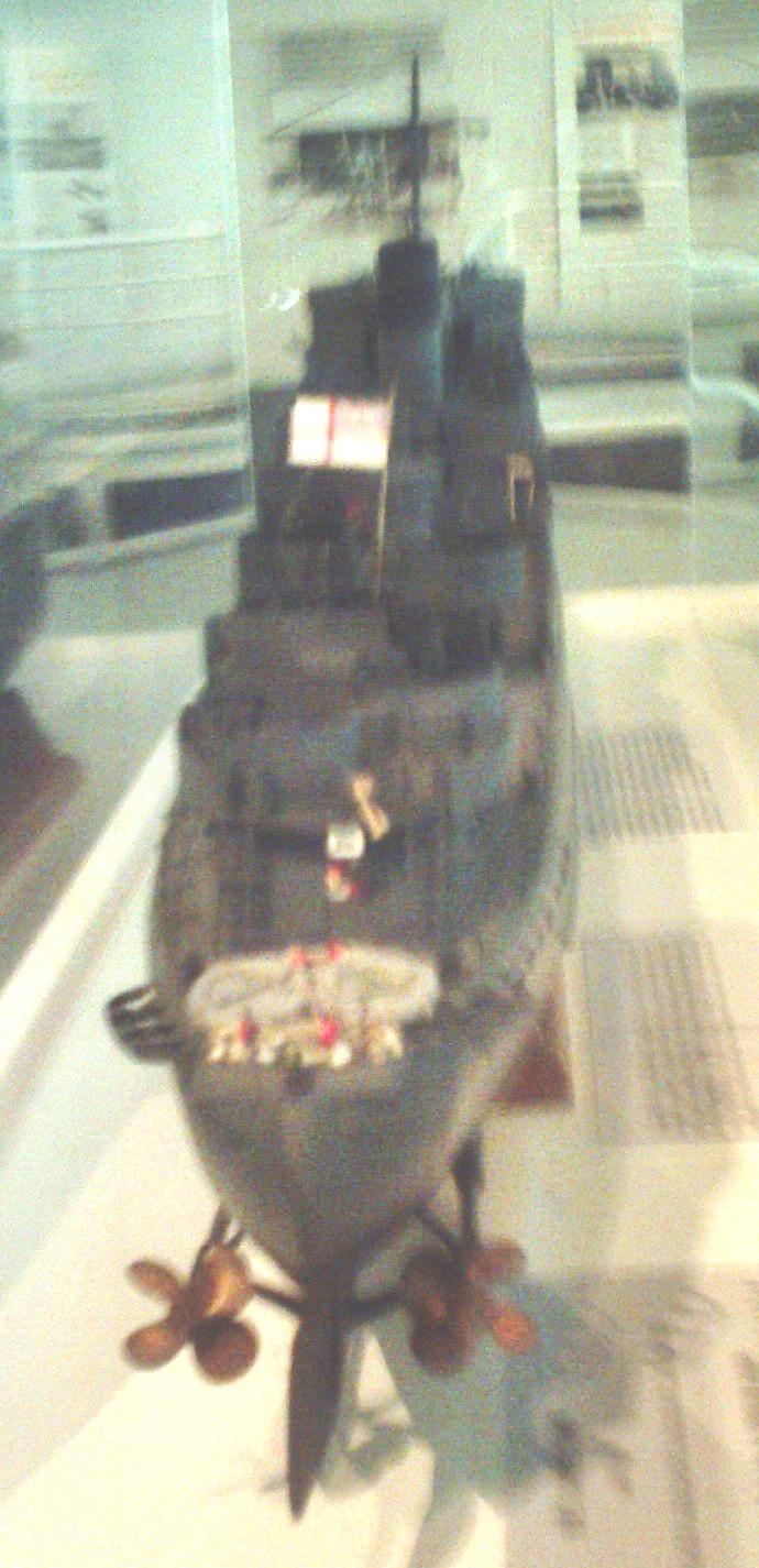 destroyer Hms Campbeltown par Galaad au 1/570 - Revell Sunp0010