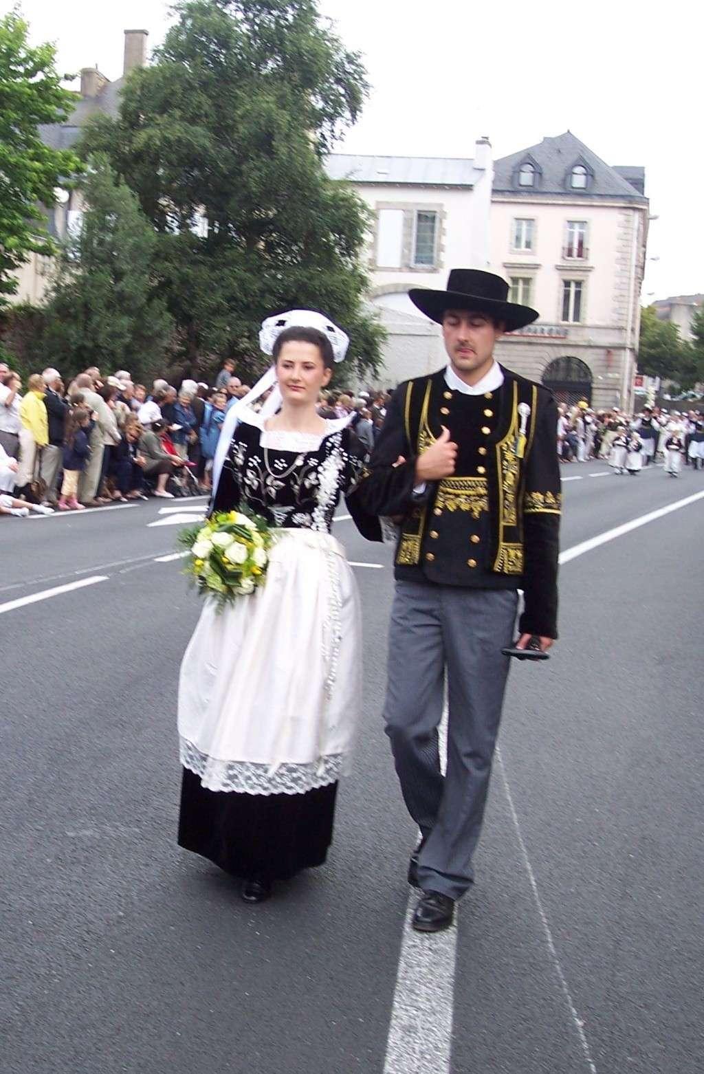 Photos des fetes de cornouaille : le grand défilé breton 101_3512
